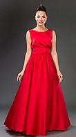 Платье летнее, нарядное, красное. /8 цветов/
