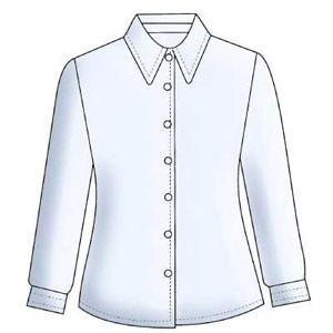 Школьные блузы и водолазки