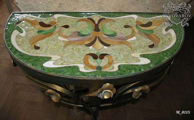 Мозаика для декора столов