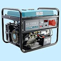 Генератор бензиновый трехфазный Konner & Sohnen KS-7000E-3 (5 кВт)