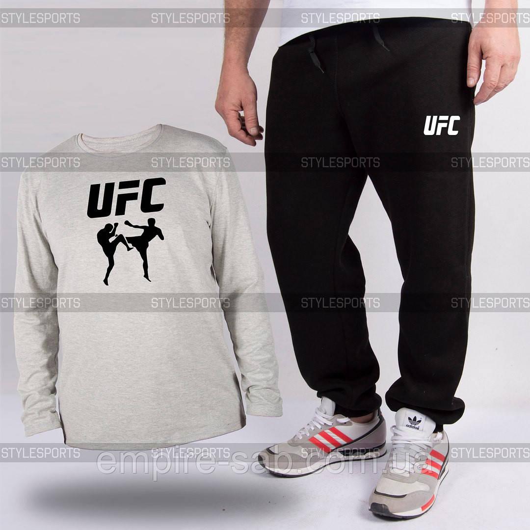Костюм. Лонгслив и штаны UFC
