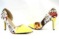 Яркие женские лодочки, туфли  размеры 36