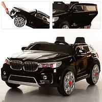 Детский двухместный электромобиль BMW X7 M 2768 EBLRS-2 черный