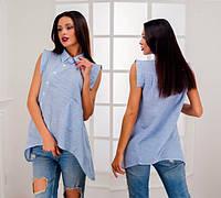 Блузка - рубашка, асимметрия.