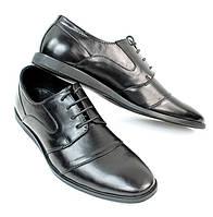 Мужская обувь, туфли из натуральной кожи  размеры 41,44