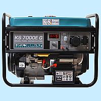 Генератор комбинированный (газ/бензин) Konner & Sohnen KS-7000E G (5 кВт)
