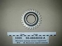 Шестерня привода насоса гидравлики (пр-во МЗШ), 50-4604032-А