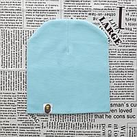Варе Kids шапка однотонная демисезонная светло-мятный