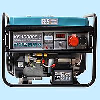 Генератор бензиновый трехфазный Konner & Sohnen KS-10000E-3 (7.5 кВт)