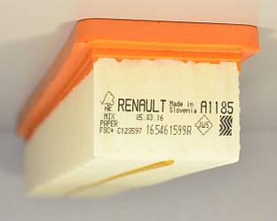 Фільтр повітря 1.2 i 16V (PX A1185) Renault Kangoo + Nissan Kubistar 01->08 — RENAULT (Оригінал) - 165461599R