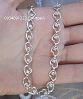 Жіночий срібний браслет з камінням Арт. ЮМ500230, фото 1