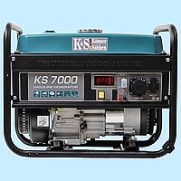 Генератор бензиновый Konner & Sohnen KS-7000 (5 кВт)