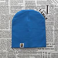 Варе Kids шапка однотонная демисезонная светло-синий