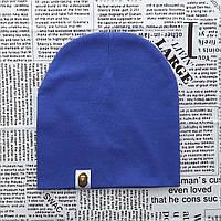 Варе Kids шапка однотонная демисезонная фиолетово-синий