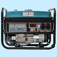 Генератор комбинированный (газ\бензин) Konner & Sohnen KS-3000G (2.6 кВт)