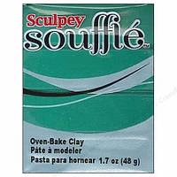Новинка! Полимерная глина Sculpey Souffle Скалпи Суфле, нефрит Jade 6323