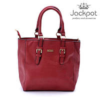 Яркая стильная красная женская сумка