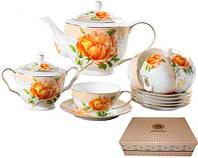 Сервиз чайный 14пр. Китайская роза