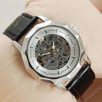 Мужские наручные часы Omega Silver/Silver Classic