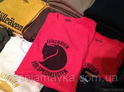 Новинка! Стильные футболки Fjallraven.