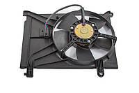 Вентилятор охлаждения радиатора дополн. с кондиционером LANOS (LUZAR)