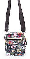 Модная разноцветная детская сумочка с цветочным принтом Б/Н art. 3703, фото 1