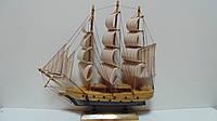 Парусник деревянный собранный 33*32 см