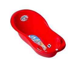 Ванночка Tega большая 102 см CS-005 Тачки синяя/красная