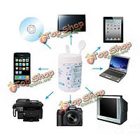 Предварительно смоченной чистящие салфетки цифровой камеры очистки очиститель ткань объектива