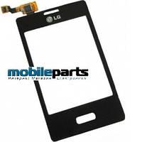 Оригинальный Сенсор (Тачскрин) для LG E400 | L3 (Черный)