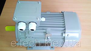 3кВт/3000 об/мин, лапы, 13AA-100L-2-В3. Электродвигатель асинхронный Lammers