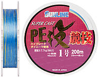 Шнур Sunline S-Cast PE Nagi Kyogi 200м #1.0/0.165мм 7.7кг
