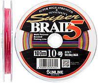 Шнур Sunline Super Braid 5 50m (12 connected) #30 100кг