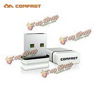 Comfast CF-wu810n-1 USB Wi-Fi адаптер РТЛ 8188eus 150мbps беспроводной адаптер