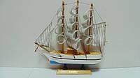 Корабль деревянный собранный размер 24*24