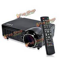Ч 800х600 2200 люменов HD домашнего кинотеатра LED проектор Поддержка DVB-т