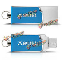 Teclast микро/USB двухпортовый 32Гб U диск USB флэш-Фиск для планшетных телефон