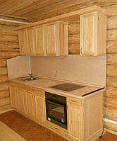 Кухня из массива сосны 003