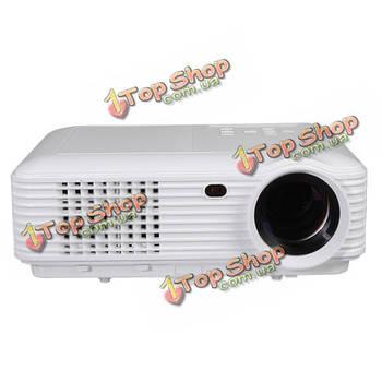 BESUNCOM M9 1280x800 4500Lumen проектор USB/AV/TV/VGA/HDMI Поддержка 3D