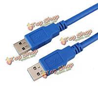 1.5м USB 3.0 Тип мужчина к типу мужской удлинительный кабель для передачи данных