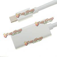 Мини дисплей порт DP мужчина к HDMI женский кабель-адаптер для MacBook воздуха