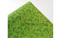 """Бумага для упаковки цветов и подарков """" Бабочки зеленые"""""""