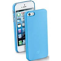 Чехол накладка панель FIT iPhone SE 5 5s бампер голубой