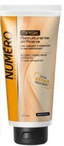 NUMERO Маска для восстановления структуры волос с экстрактом овса 300мл (шт.)