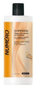 NUMERO Шампунь для восстановления структуры волос с экстрактом овса 1000мл (2899) (шт.)