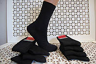 Носки женские черные стрейчевые, (подростковые) р.23-25