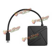 Seenda IHUB-01c переносного типа-с 3.1 до 4-х портовый USB 3.0 концентратор кабель адаптера