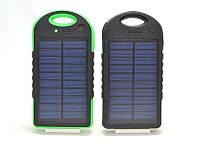 Power Bank 40000 mA + Solar Panel солнечный в защитном корпусе