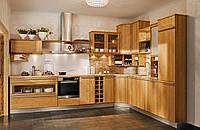 Кухня из массива дерева 006