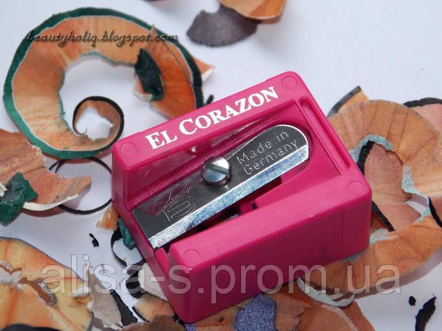 Точилка для косметических карандашей El Corazon